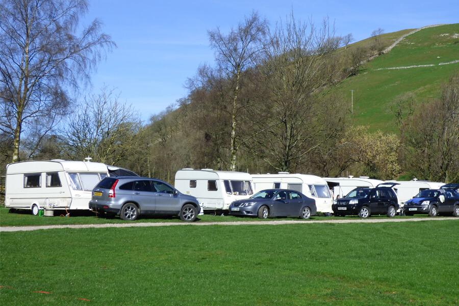 Masons Campsite Main Field Caravans