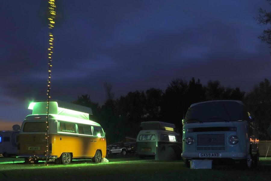 Masons Campsite Main Field Dub At Night