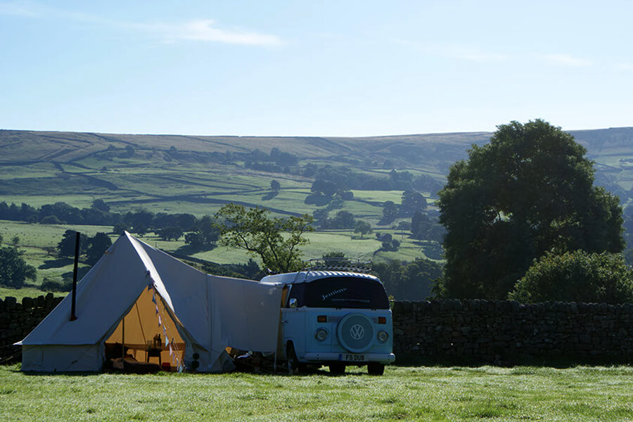 Masons Campsite Main Field VW Tent