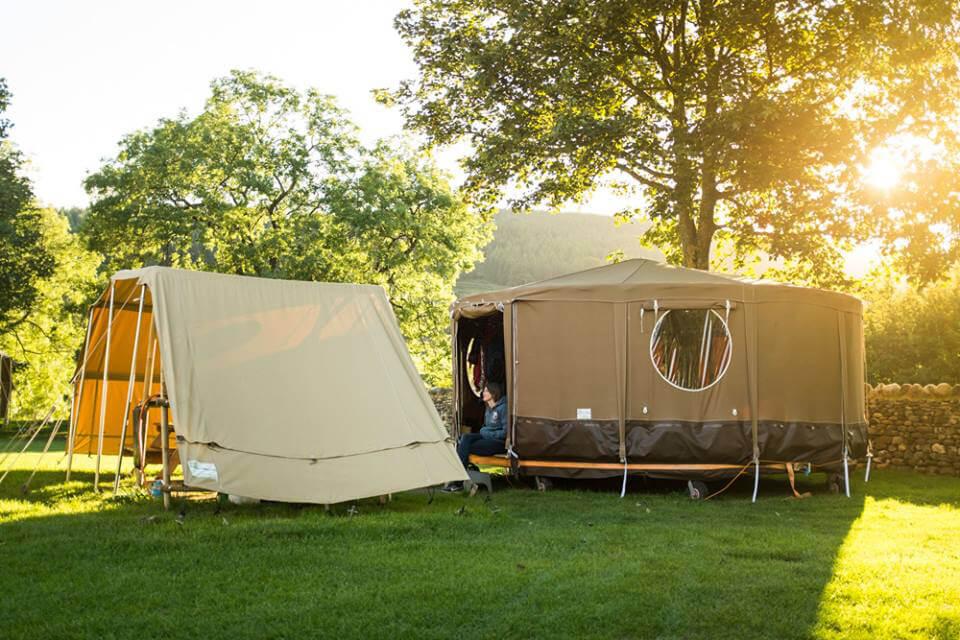 Masons Riverview Yurts Bolton Abbey Exterior