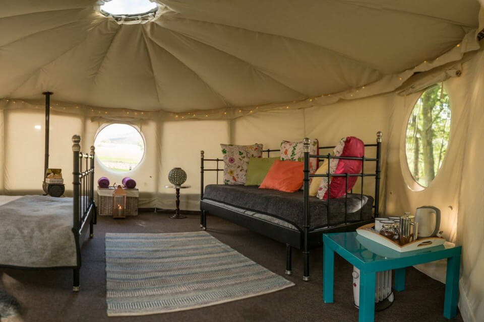 Masons Riverview Yurts Bolton Abbey Sofa