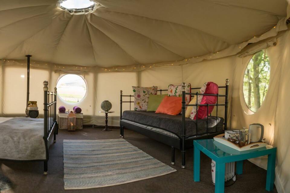 Masons Riverview Yurts Bolton Abbey Sofa