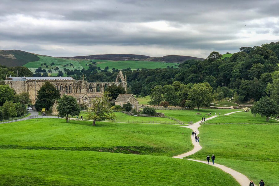 The Dales Way Bolton Abbey