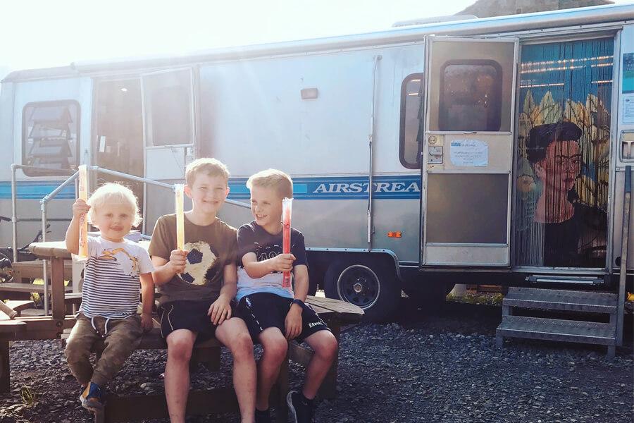 Masons Campsite Airstream office