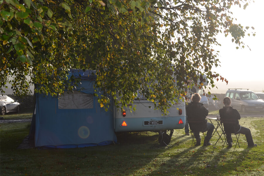 Masons Campsite Caravan Awning