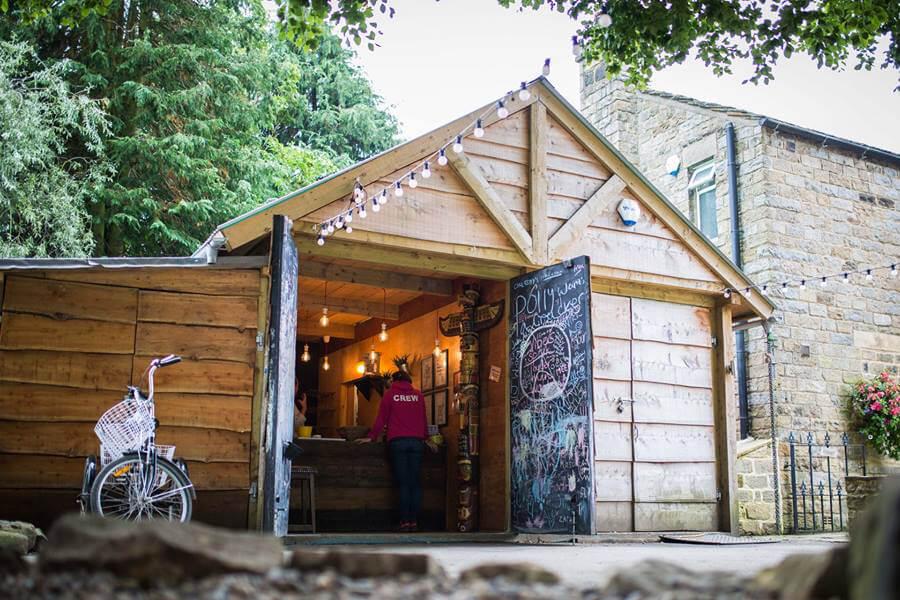Masons Campsite Coffee Shop Exterior