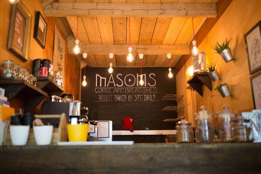 Masons Campsite Coffee Shop Interior