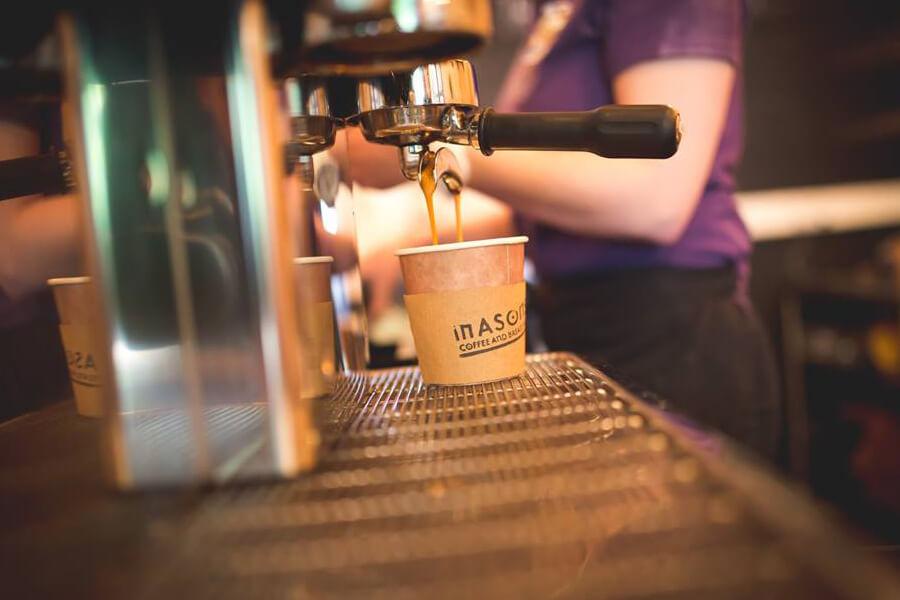 Masons Campsite Coffee Shop Coffee