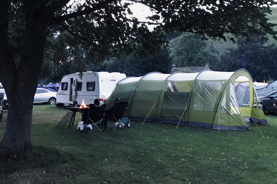 Masons Campsite Open fire