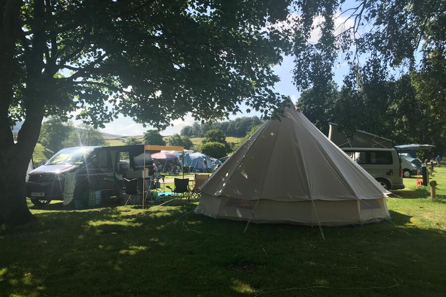 Masons Campsite Yurt