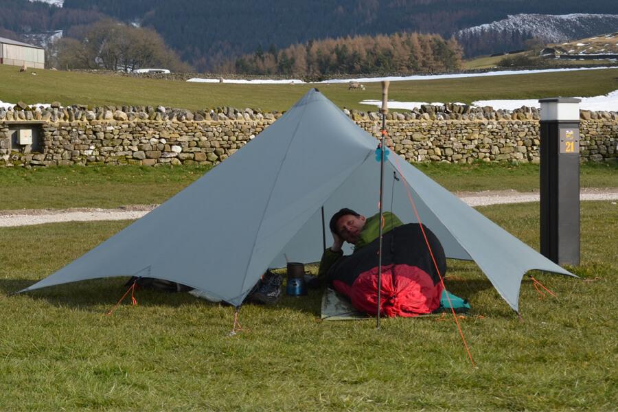 Masons Campsite single man tent