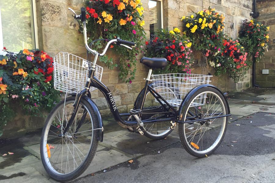 Masons Campsite Bolton Abbey Three Wheel Bike