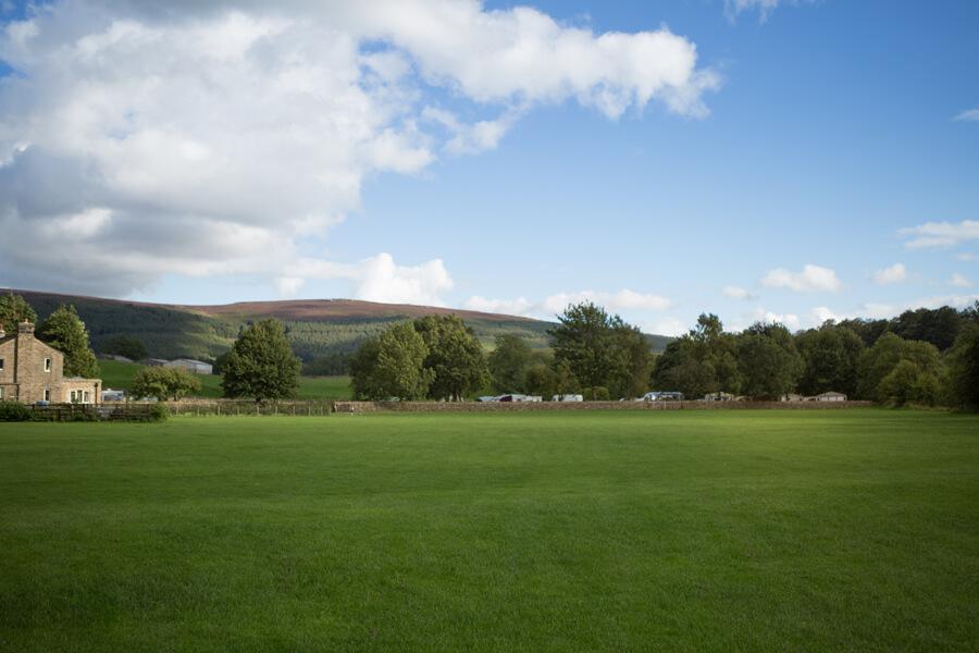 Masons Campsite Bolton Abbey Main Field