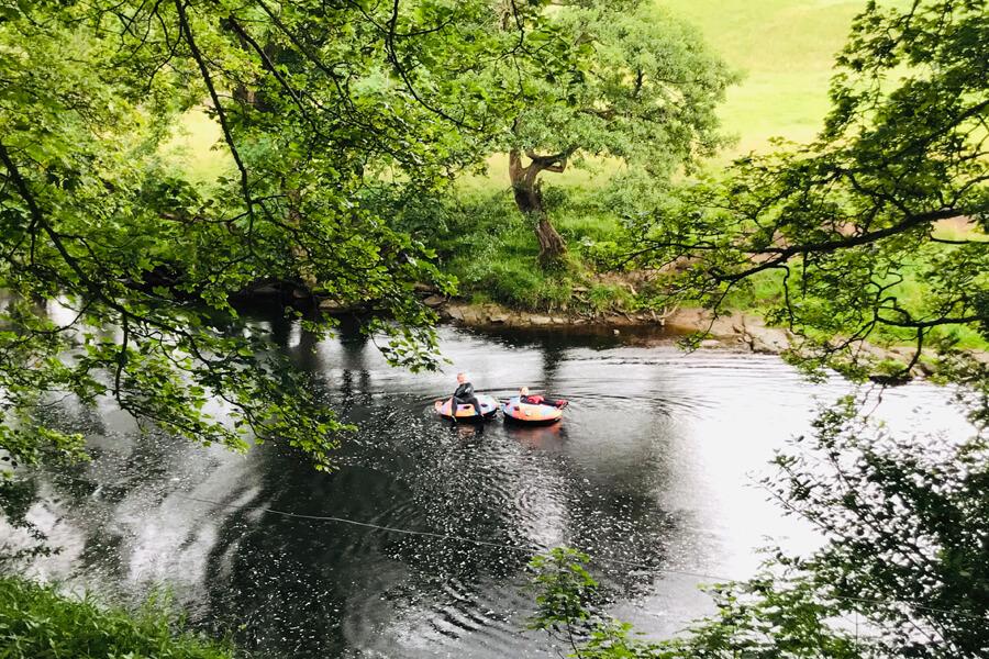 Masons Campsite Bolton Abbey River Fun
