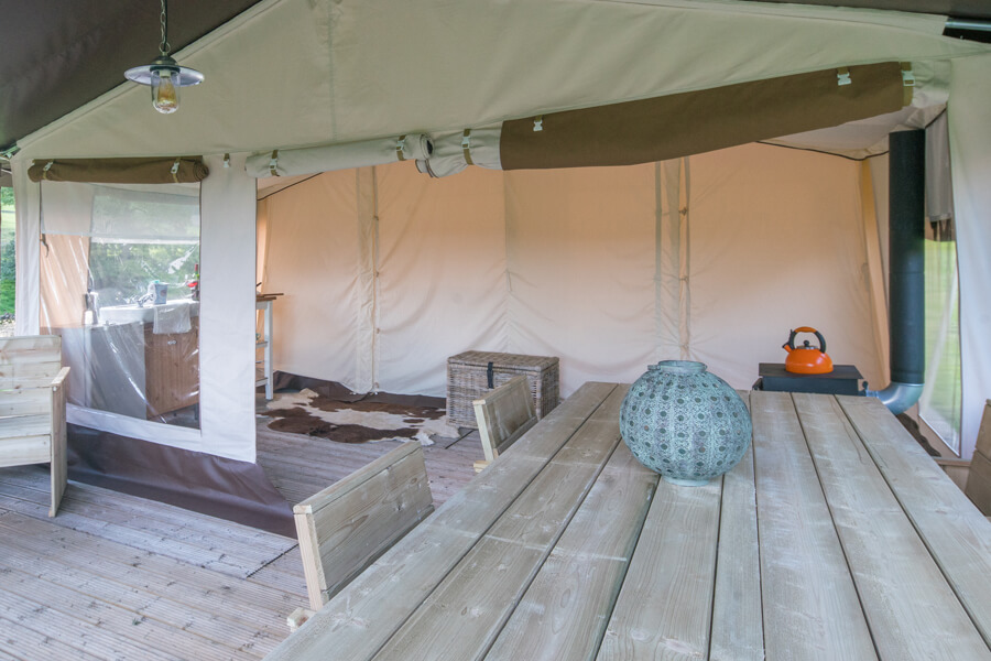 Masons Safari Tent Interior