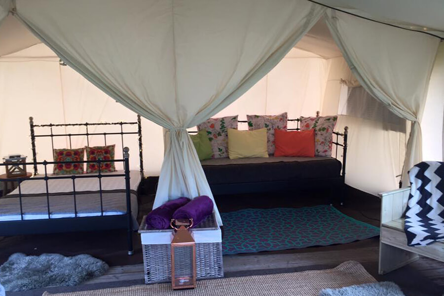 Masons Safari Tent Bed and Sofa