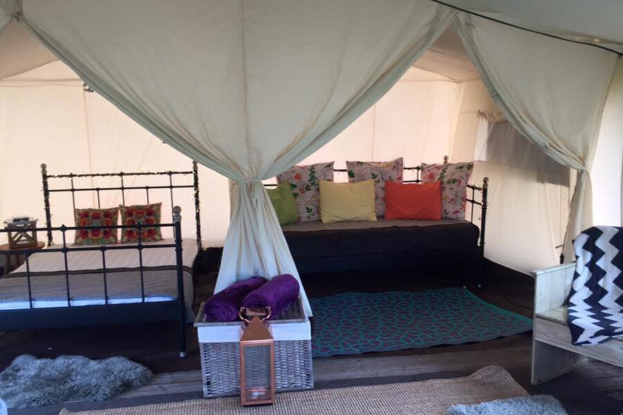 Masons Safari Tent Bed and Sofa
