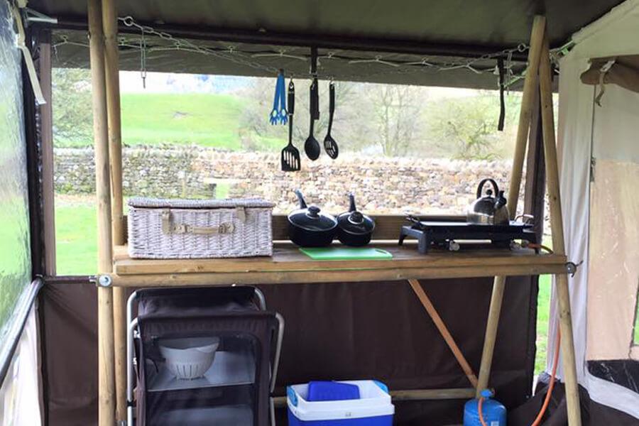 Masons Safari Tent Kitchen