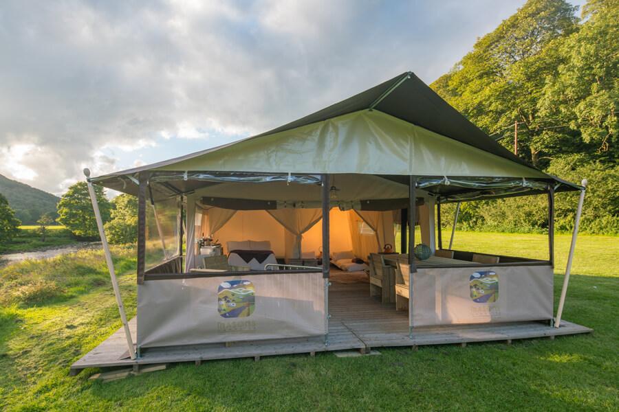 Masons Safari Tent Exterior